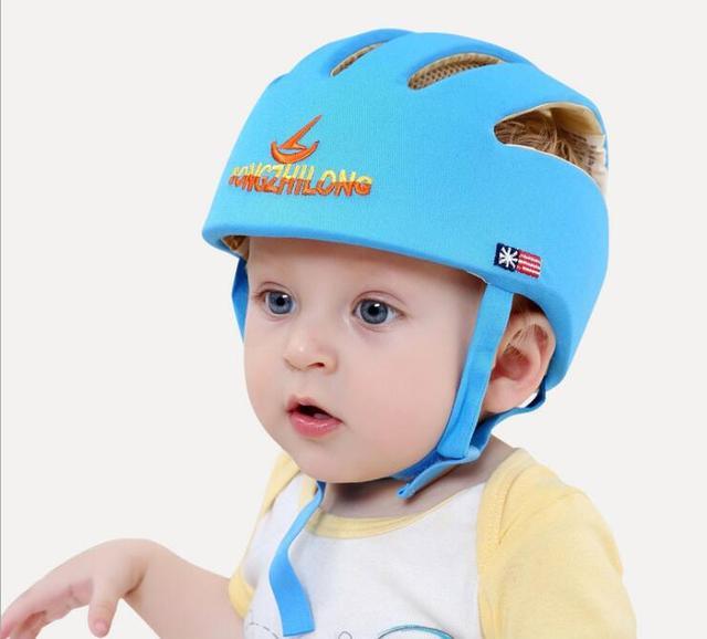 Protezione di sicurezza del bambino a piedi casco infantili dei ragazzi  delle ragazze testa di sicurezza 6bd85cfaacf8