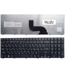YALUZU RU для Acer 5820 T 5750 г 5742 5536TG 7741ZG 7741 г E1-531G E1-531 Черный Новый Клавиатура ноутбука русский 5742 г