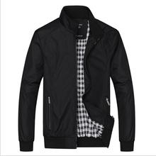 Büyük boy 5XL 6XL erkek ilkbahar yaz ceketler rahat ince erkek rüzgarlık koleji bombacı siyah Windcheater Hommes kolej ceketi
