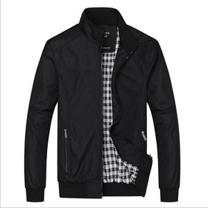 Image 1 - Big Size 5XL 6XL Mens Spring Summer Jackets Casual Thin Male Windbreakers College Bomber Black Windcheater Hommes Varsity Jacket
