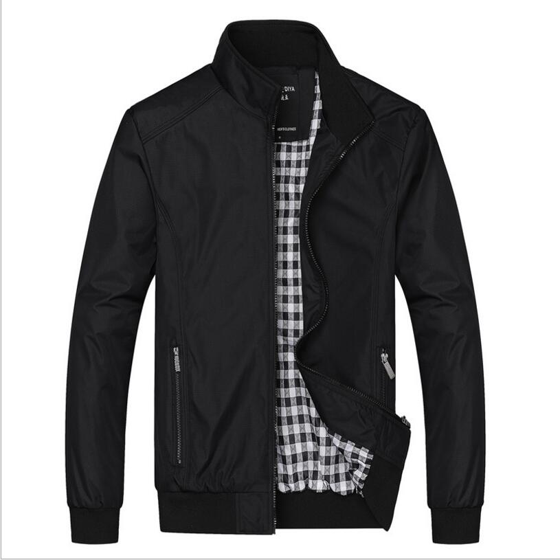 Big Size 5XL <font><b>6XL</b></font> Mens Spring Summer Jackets Casual Thin Male Windbreakers College Bomber Black Windcheater Hommes Varsity Jacket image