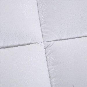 Image 5 - רך לבן מרופד מזרן טופר עם רצועות ריהוט בית מלון חמישה כוכבים משלוח מהיר