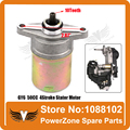 GY6 50cc 80cc 4-Stroke Scooter Motorcycle Engine Electric Starter Motor Fit KYMCO BAOTIAN KEEWAY TAOTAO  Free Shipping