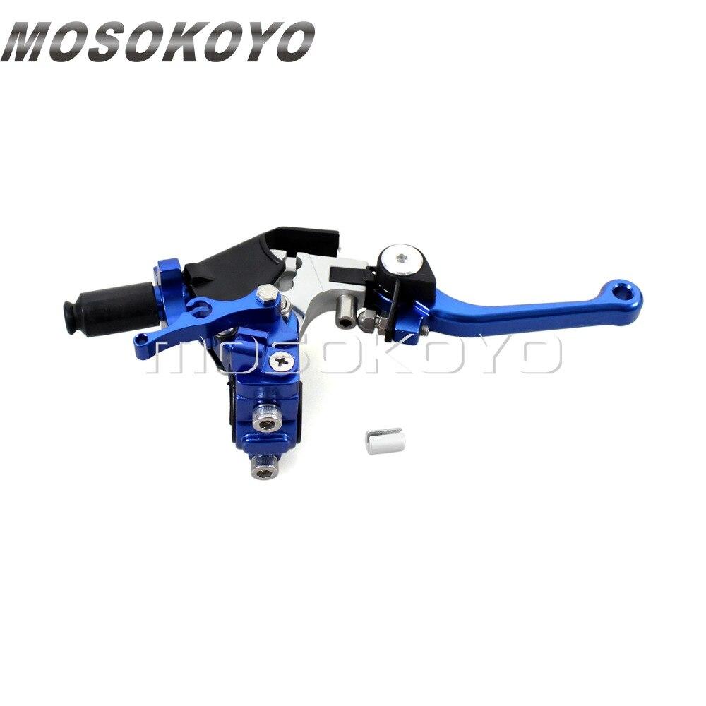 Levier d'embrayage de guidon de moto en aluminium de CNC 7/8