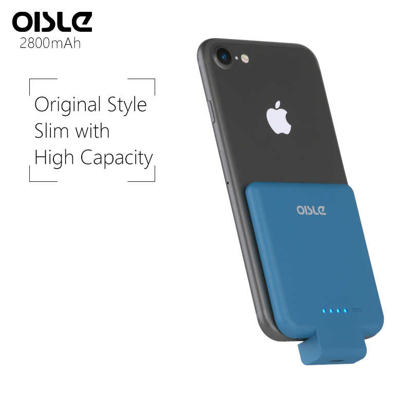 2800mAh Wireless Portable Charger For iPhone 7 Battery Case