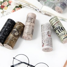 10 cm x 5 m English postmark vintage posters washi tape children diy decoration masking stationery scrapbooking stickers
