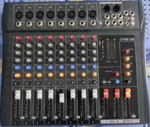 Good quality Real Pro CT80S-USB sound console 8 Channel DJ Mixer For Big stage mixer