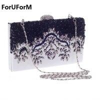 Распродажа Женские Сумочка Элегантные жемчужные Тип женский день сцепления Вечерние сумки свадебная сумочка кошелек плечо LI-987