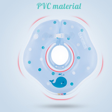 Baby neck float Inflatable Swimming Ring PVC infant Neck Wheels for Newborns Bathing Swimming Pools Accessories baby inflatable ring newborns bathing circle baby neck float inflatable wheels pool rafts summer toys swimming accessories