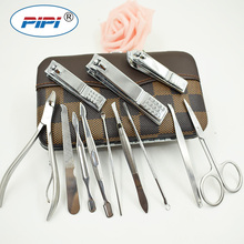 High Qualiy Stainless steel Manicure Set Nail Care Tools Pedicure Nail Clipper Kit Nail Cutter File Scissor