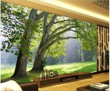 Custom photo 3d wallpaper Non-woven mural 3d wall murals wallpaper for living room natural forest trees decoration painting 3d wallpaper custom photo non woven picture retro rose floor mural back painting 3d murals wallpaper room decoration wallpaper