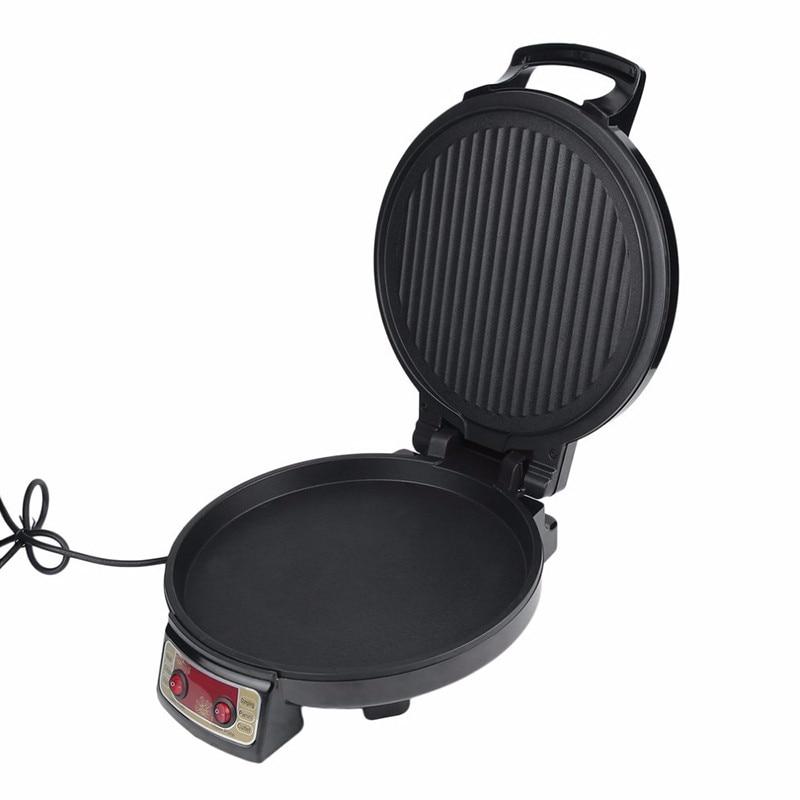KBP 3201 Elektrische Grillplaat & Backer Dual side Verwarming Bakken Pan Frituren Machine voor Huishoudelijke Keuken Gebruik - 3
