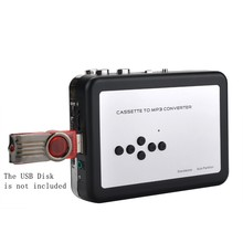 Hot Sale ! Old Cassette Tape Convert to MP3 WAV Converter, Cassette To USB U Flash Disk Audio Capture Walkman Music Player