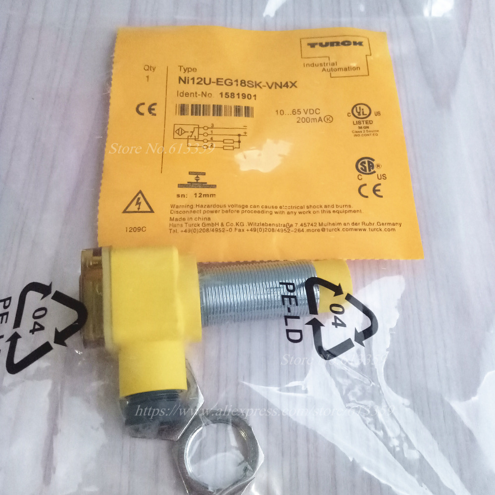 small resolution of ni12u eg18sk vn4x ni12u eg18sk vp4x turck proximity switch sensor new high quality in sensors from electronic components supplies on aliexpress com