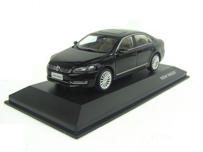 Black 2011 1 43 Volkswagen German VW Passat Mini Die Cast Model Car Metal Sedan Model