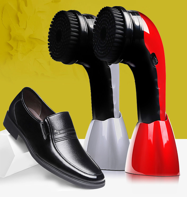Shoe Polishing Equipment automatic machine household electric brush shoes rechargeable portable handheld NEW