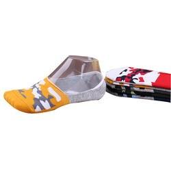 5 пар/лот весна лето новый камуфляж мужчины носки-башмачки закрытым носком повседневные хлопковые нескользящие носки невидимки Носки