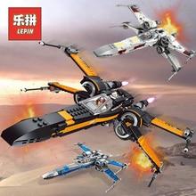 """LePin """"Звездные войны"""" 05004 05029 галстук с изображением звезд X крыло 05145 истребитель строительные Конструкторы Совместимость Legoinglys Star Plan войны детская игрушка 75149"""