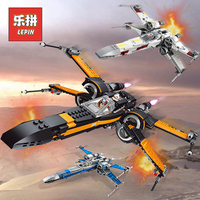 Lepin Starwars 05004 05145 05029 X Wing Star Tie Fighter Building Blocks Compatible Legoinglys Star Plan Wars Children Toy 75149
