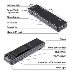 Image 4 - Vandlion A3 ミニデジタルカメラ hd 懐中電灯マイクロカム磁性体カメラモーション検出スナップショットループ録画