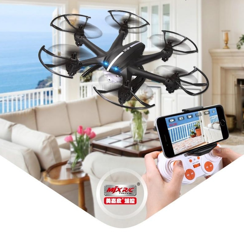 MJX R/C Technic X800 RC Drone Helicopter quadcopter 2.4G 6-Axis Can Add C4005 FPV Wifi Camera White Black vs X5SW X600 x5hw