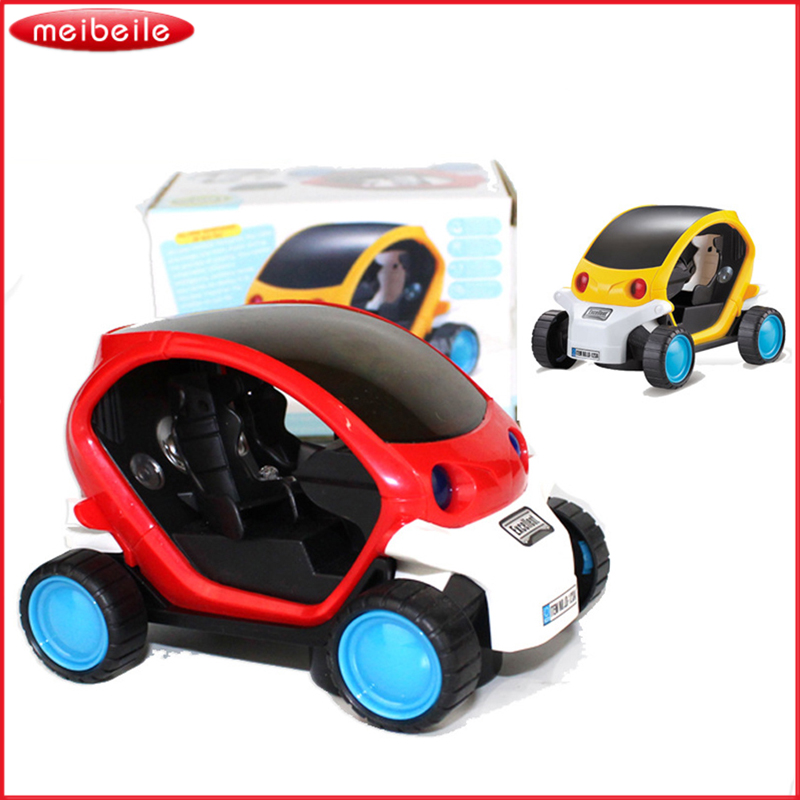 Hot ! NEW 3D Electric Toy Car Toy Light With Automatic Matrix Electric  Car  Brand Toy  Free Shipping
