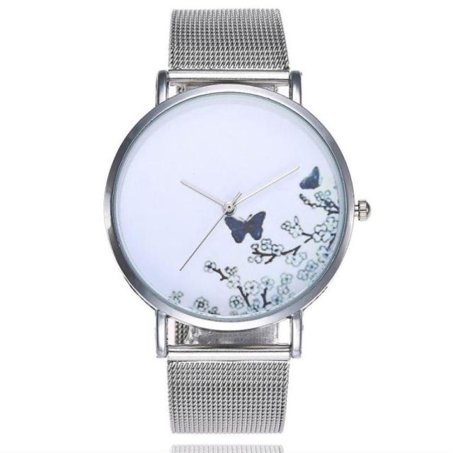2018 hot sale Unisex Popular limited time promotion Casual Quartz Stainless Stee