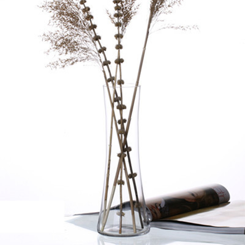 jarrn de vidrio transparente luckybamboo gran boda decoracin para el hogarchina