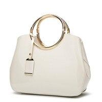 Luxury Handbags Women Bags Designer Bride Red White Tote Bag 2019 Summer Leather Fashion Messenger Shoulder Bag Sac A Main Femme