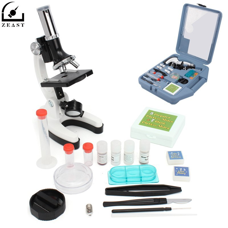 Microscope Set Portable 28 Piece Educational Microscope Kit 100x 400x and 900x Gift For KidsMicroscope Set Portable 28 Piece Educational Microscope Kit 100x 400x and 900x Gift For Kids