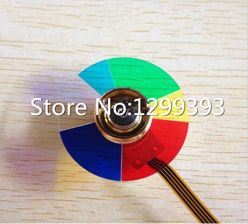 Projector Color Wheel for   Vivitek D952HD   Free shipping projector remote control for projector vivitek d535