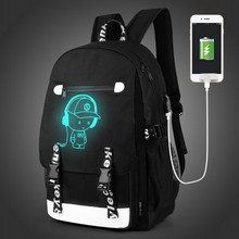 """Красивые Детские 15.6 """"Для мужчин ноутбук рюкзак Внешний USB зарядки противоугонные компьютер Рюкзаки мужской Водонепроницаемый Сумки"""