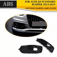 ABS Car Frente Fog Light Covers Q3 Utilitário 4-Porta Lâmpada para Audi 2013-2015
