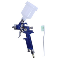 0 8MM 1 0MM Nozzle H 2000 Professional HVLP Spray Gun Mini Air Paint Spray Guns