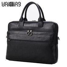 UniCalling men bag genuine leather laptop bag for men new design stylish brand men bag cross body shoulder bag
