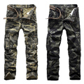 HOT Spring Autumn Army Sportswear Pants 2017 Fashion Camouflage Pants Men Crotch Cotton Pants High Quality Trousers