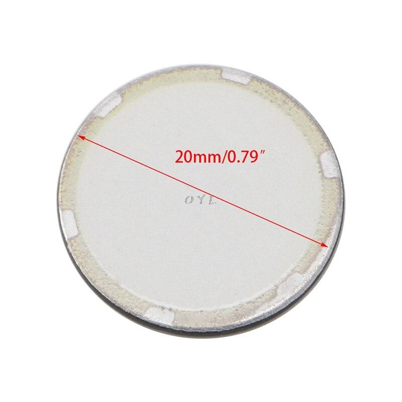 5pcs 16/20mm Fogger Ultrasonic Ceramic Disc Sheet Atomizer Humidifier Accessories