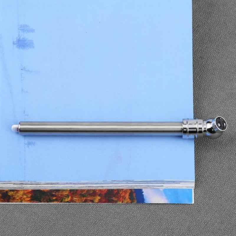Stainless Steel Pen Shaped Car Vehicle Tire Air Pressure Test Meter Gauge Portable Car Tire Pressure Gauge Barometer New