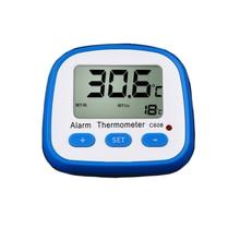 Термометр с сигнализацией для домашнего монитора температуры, холодильник с морозильной камерой, легкий гигрометр, цифровой ЖК-дисплей