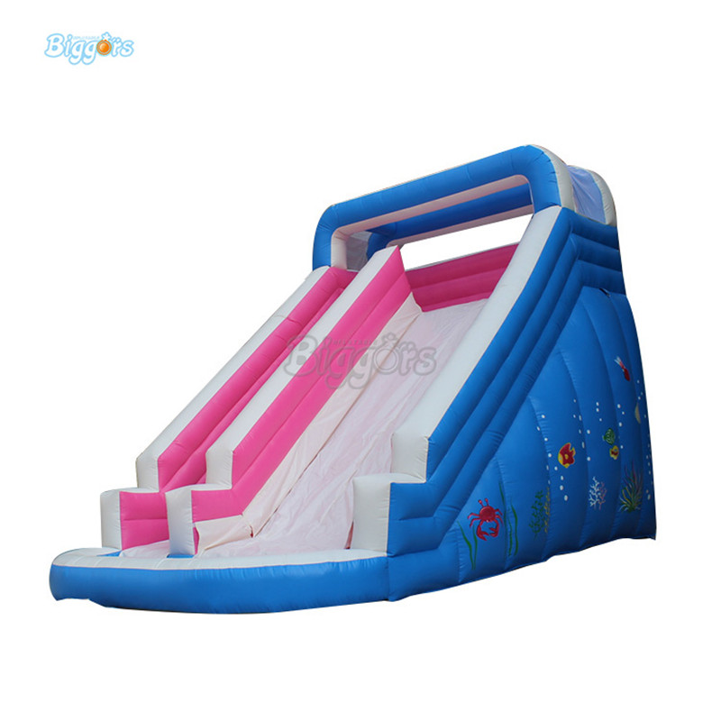 Giant colorful children inflatable slide inflatable water slide for outdoor activities
