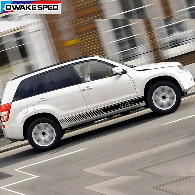 HLLebw Auto Pegatinas de Calcoman/ías For Suzuki Grand Vitara AT MT 4X4 Off Road
