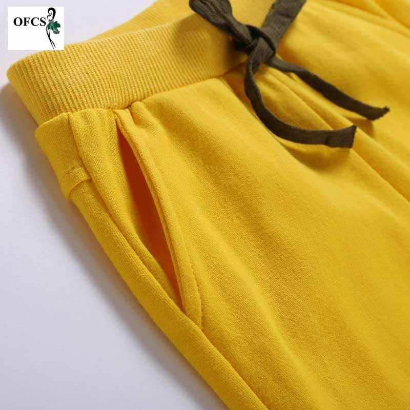 OFCS Brand Baby Shorts Cotton Trousers For Girls Shorts Children's Pants Boys Beach Shorts Kids Clothing Motion Pants 80-150 CM