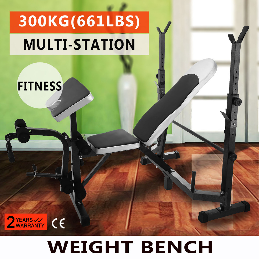 Multi Station Weight Bench Press Leg Curl Home Gym Weights Equipment  Adjustable  In Power Tool Accessories From Tools On Aliexpress.com |  Alibaba Group