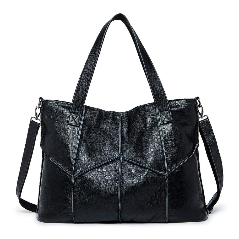 2017 Nuevo estilo casua moda debe bolso de moda mujer bolso de alta calidad Bolso Negro