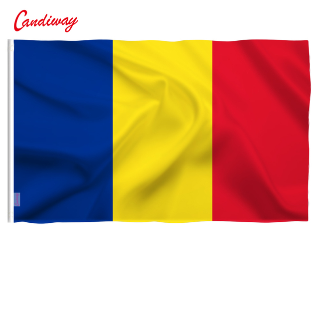 Romania Flag Romanian Flags European New Eu 3x5feet Hanging