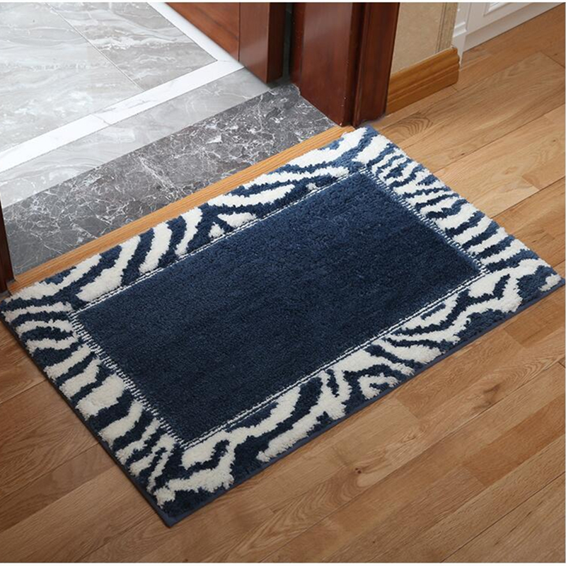 Soft Bathroom Carpet For Toilet Bathroom Mat For Decor Non-slip Bedmat Tapis Salle De Bain Soft Bath Rugs Antislip Douche Matten