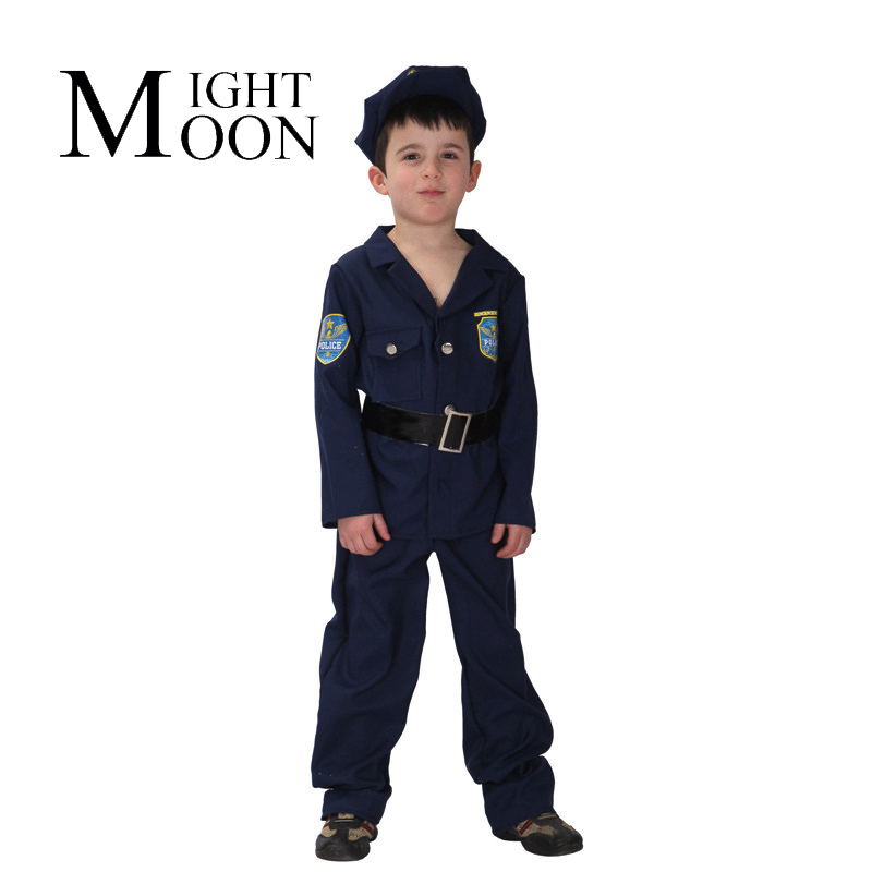 MOONIGHT Kids Police Officer Uniform Boys Book Week Fancy Dress Costume Party Outfit Halloween Costume-in Boys Costumes from Novelty u0026 Special Use on ...  sc 1 st  AliExpress.com & MOONIGHT Kids Police Officer Uniform Boys Book Week Fancy Dress ...
