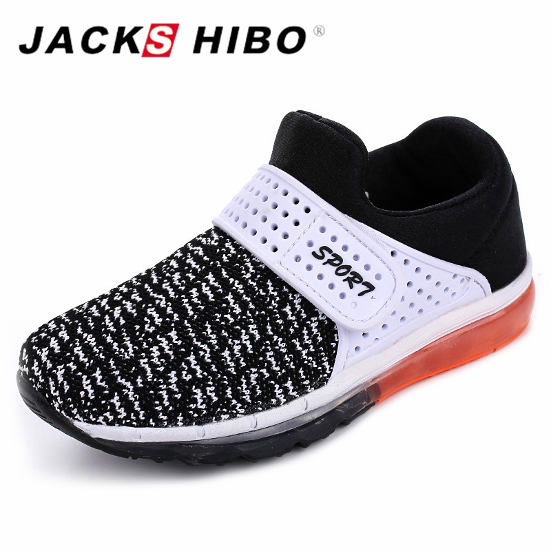 JACKSHIBO New Spring Kids Sneakers Boy Shoes kids Shoes Comfortable Outdoor Breathable A ...