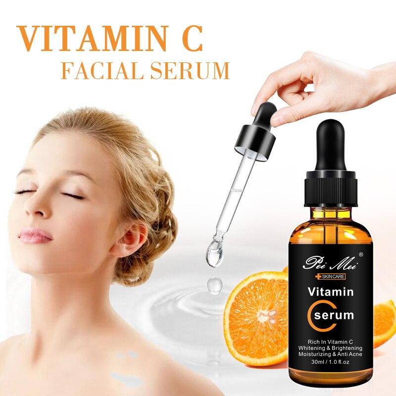 30ml Facial reparar la piel Serum Retinol vitamina C suero reafirmante antiarrugas antienvejecimiento Anti acné suero para el cuidado de la piel recién llegado|Suero|   - AliExpress