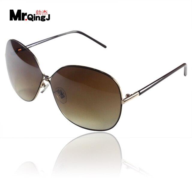 Popular sunglasses female fashion vintage fashion Women big box sunglasses female sunglasses large sunglasses sun glasses trend